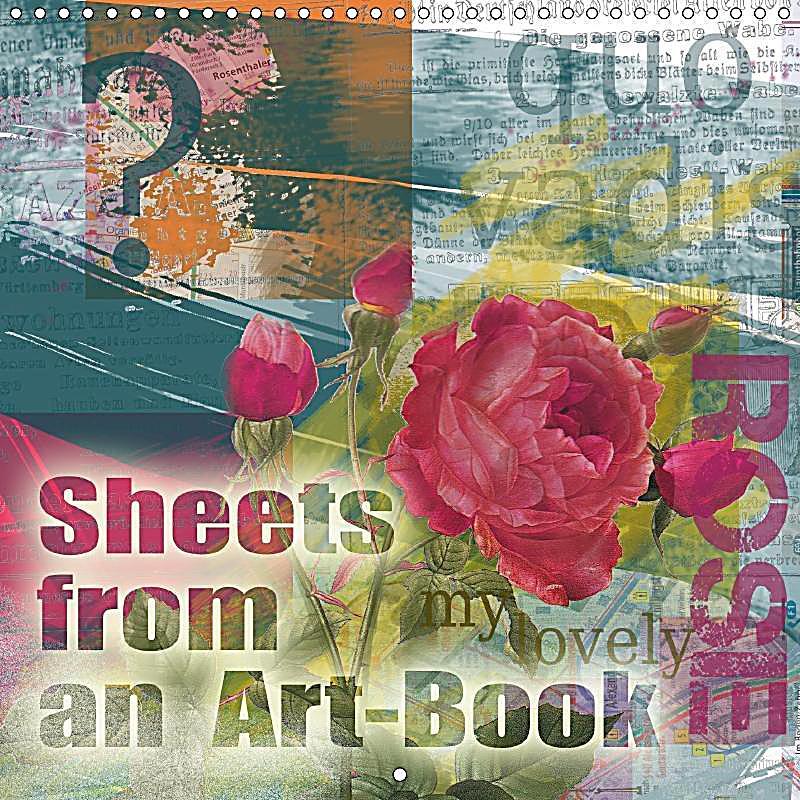 Art Calendar Book : Sheets from an art book wall calendar mm