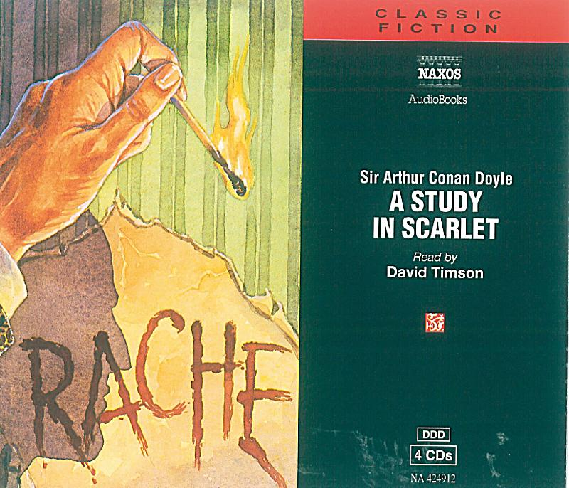 sherlock holmes a study in scarlet Need help with part 1, chapter 1: mr sherlock holmes in arthur conan doyle's a study in scarlet check out our revolutionary side-by-side summary and analysis.