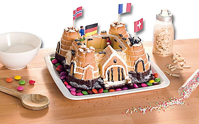 Kommentare Zu Silikonbackform Burg Weltbild De