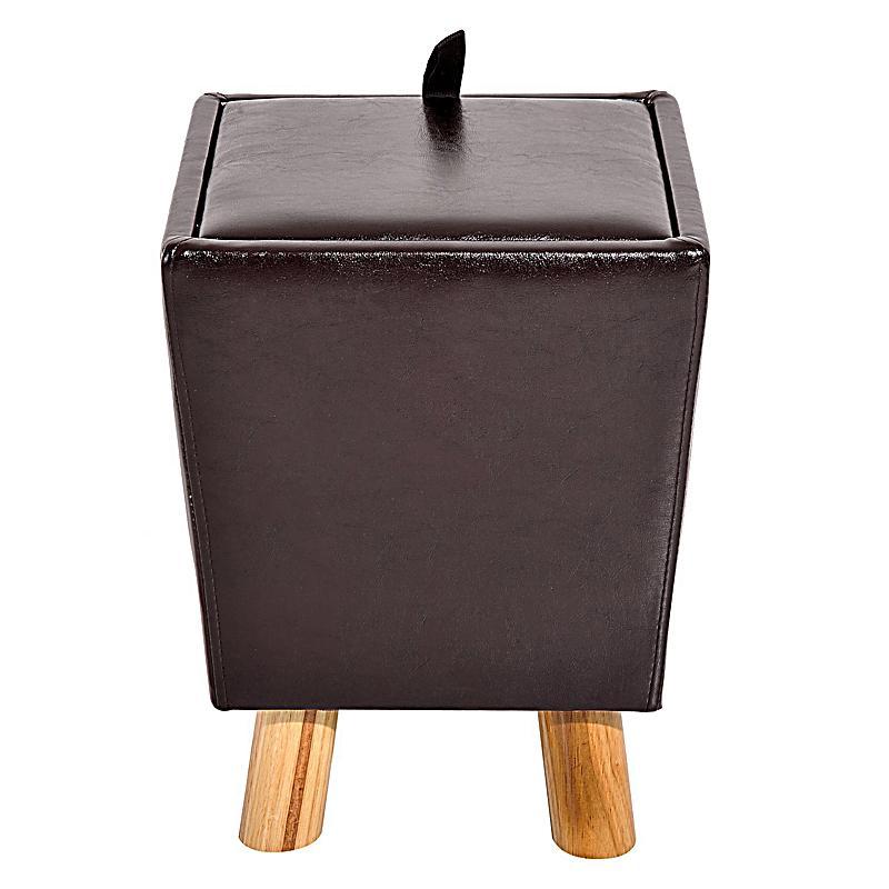 Sitzhocker Mit Stauraum sitzhocker mit stauraum farbe dunkelbraun weltbild de