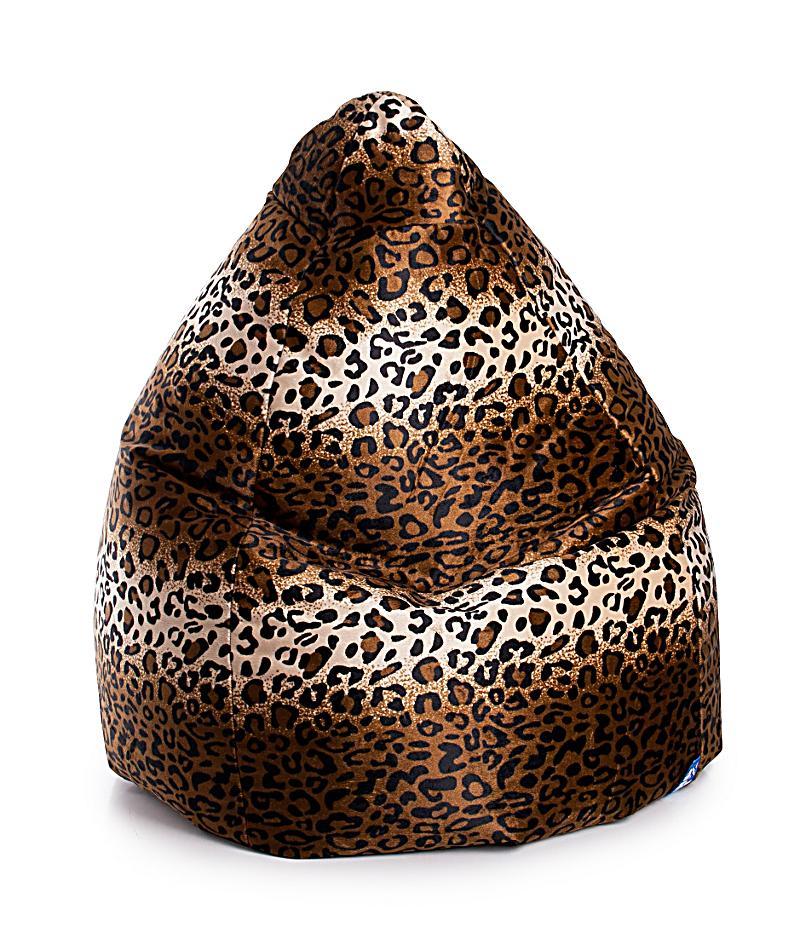 Sitzsack BeanBag Afro XXL (Design: Leopard)