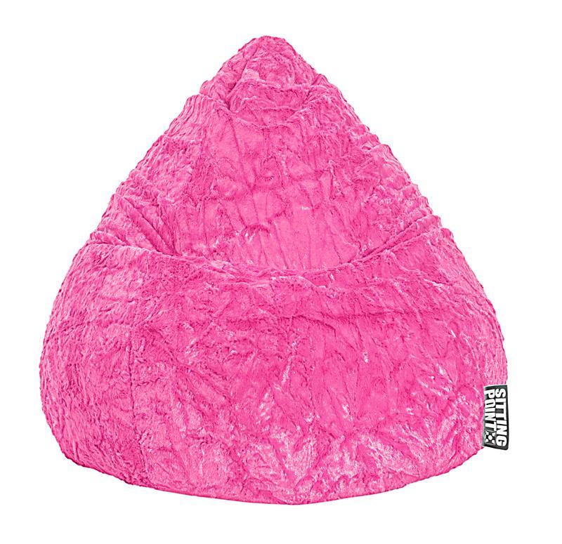 Sitzsack Beanbag Fluffy Xl Farbe Pink Bestellen Weltbildat