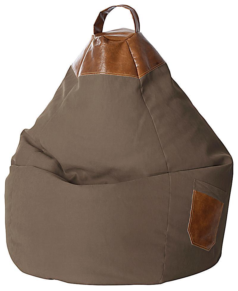 Sitzsack Beanbag Jamie XL (Farbe: braun)