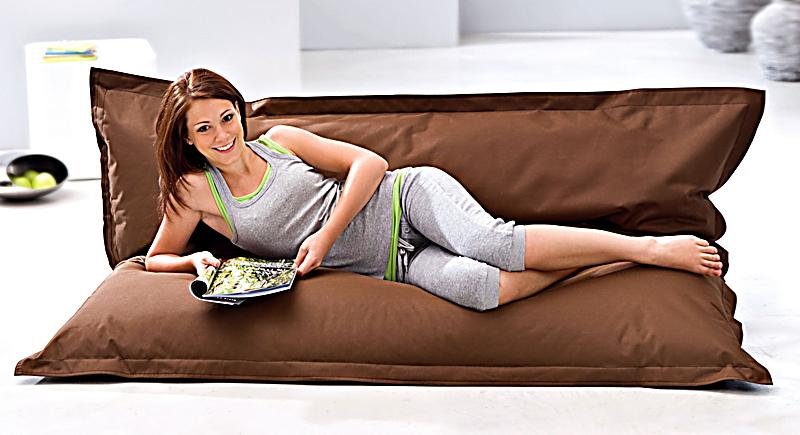 sitzsack big bag farbe dunkelbraun bestellen. Black Bedroom Furniture Sets. Home Design Ideas