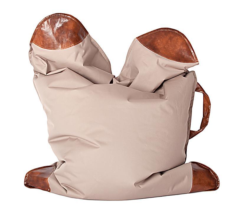 sitzsack scuba mybag safari farbe khaki bestellen. Black Bedroom Furniture Sets. Home Design Ideas