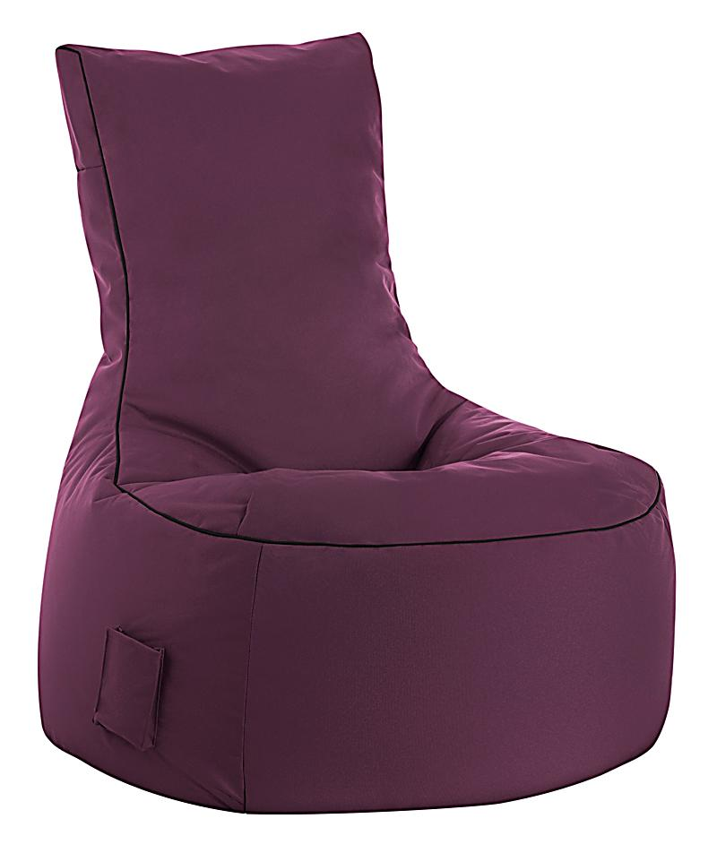 sitzsack swing scuba aubergine jetzt bei bestellen. Black Bedroom Furniture Sets. Home Design Ideas