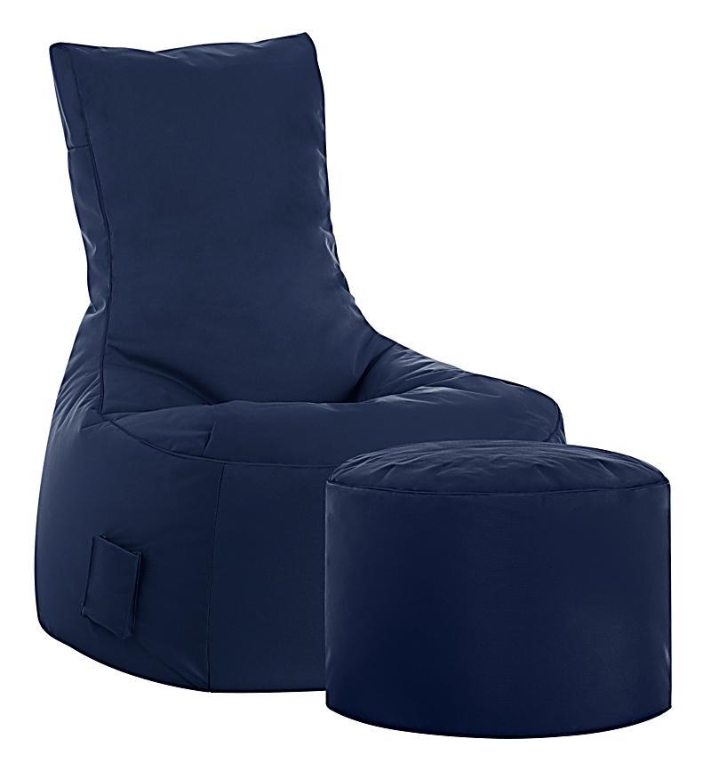 sitzsack swing scuba jeansblau jetzt bei bestellen. Black Bedroom Furniture Sets. Home Design Ideas