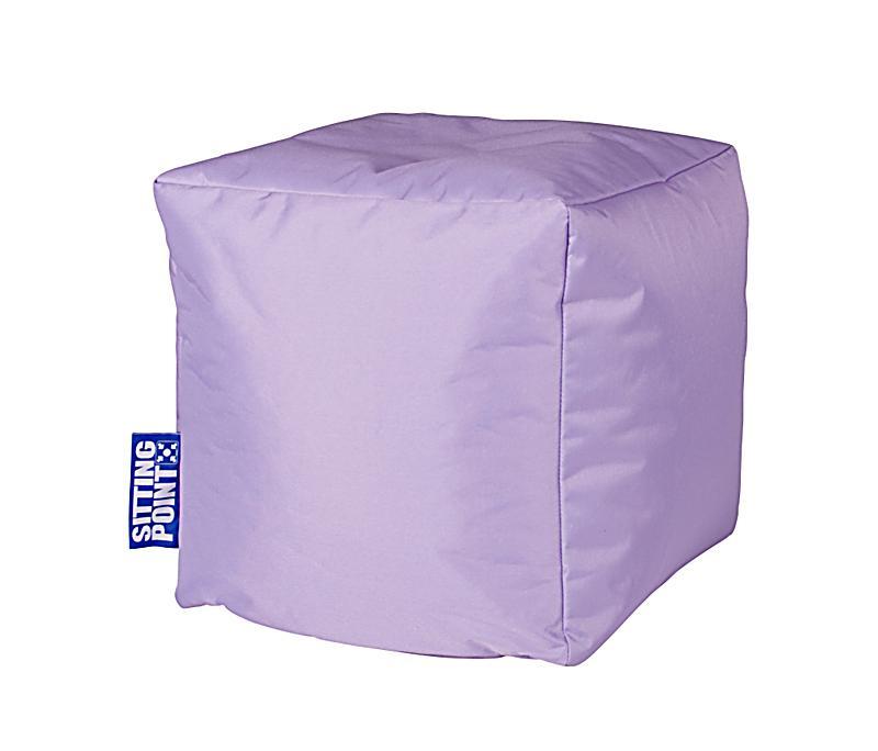 sitzw rfel cube scuba farbe flieder bestellen. Black Bedroom Furniture Sets. Home Design Ideas