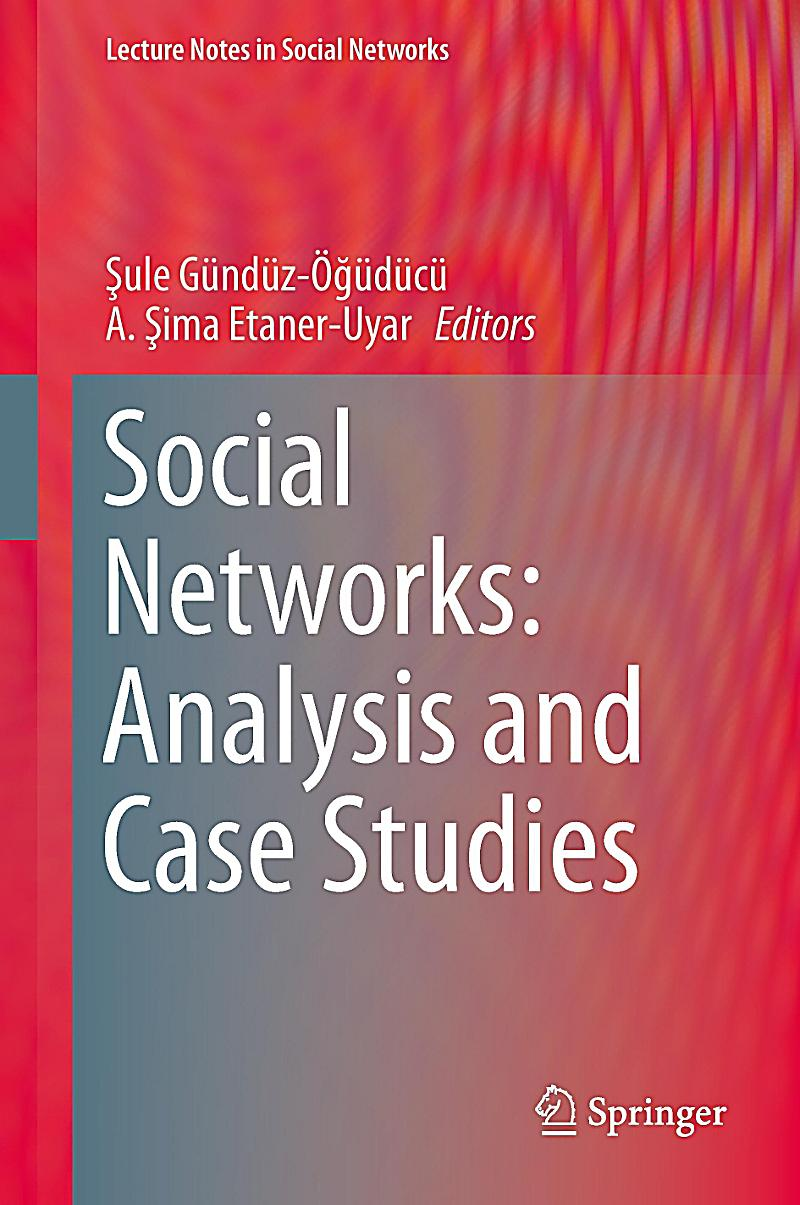 social case analysis Social network analysis is a compilation of methods used to identify and analyze patterns in social network systems this article serves as a primer on foundational.