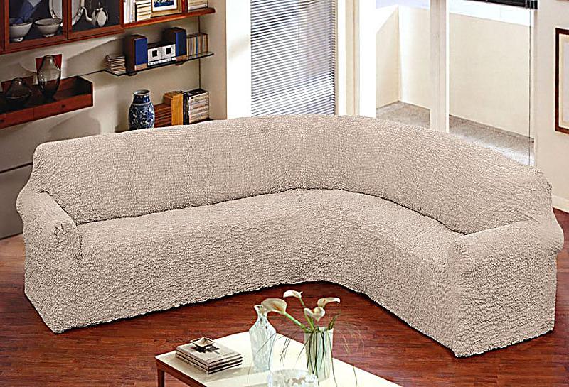 sofa stretchbezug bielastico couchecke farbe natur. Black Bedroom Furniture Sets. Home Design Ideas