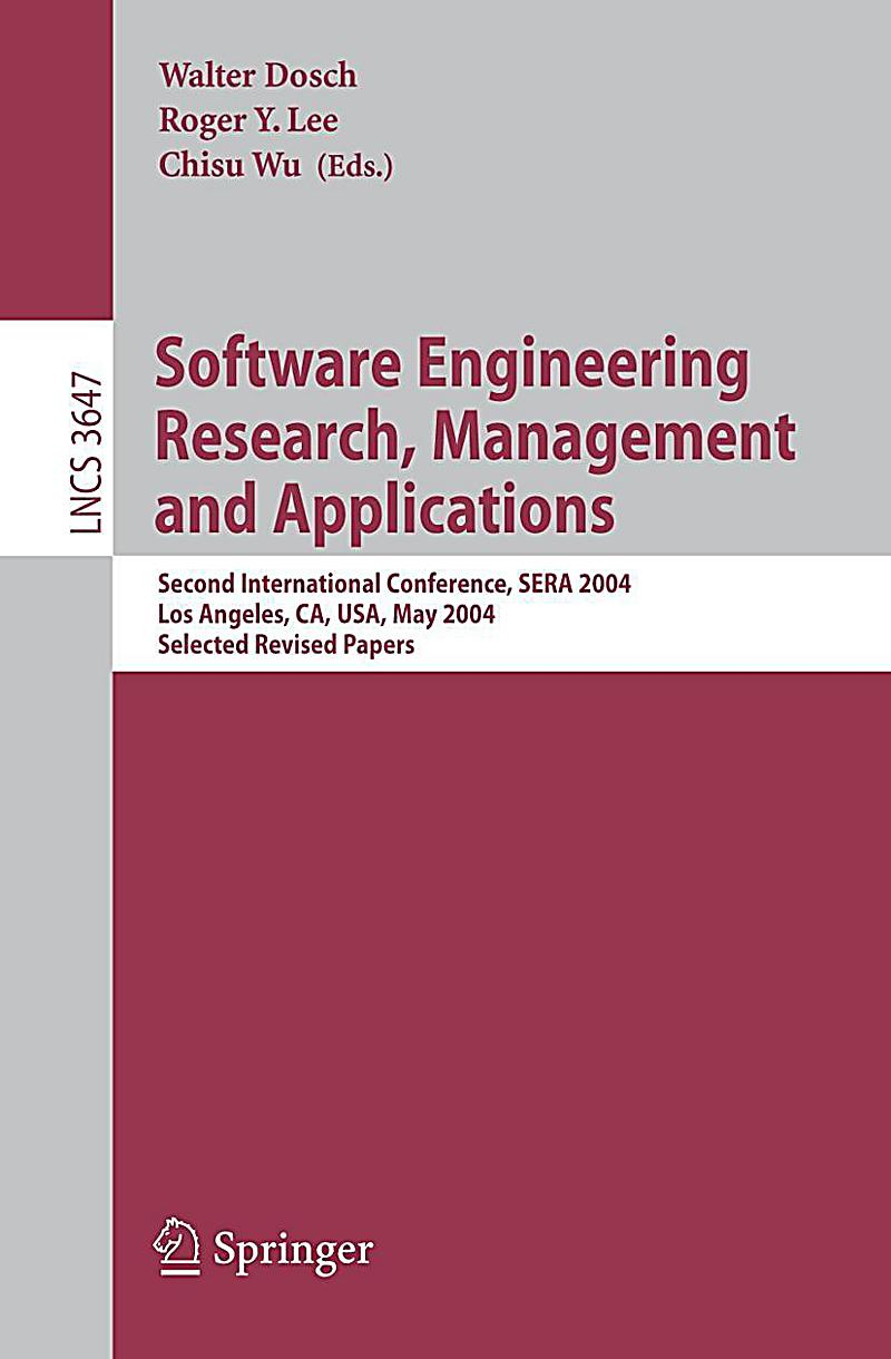 software engineering research papers B paper goal and research questions we aim at finding out whether the  increasing trend of applying empirical research in software engineering is also  true.