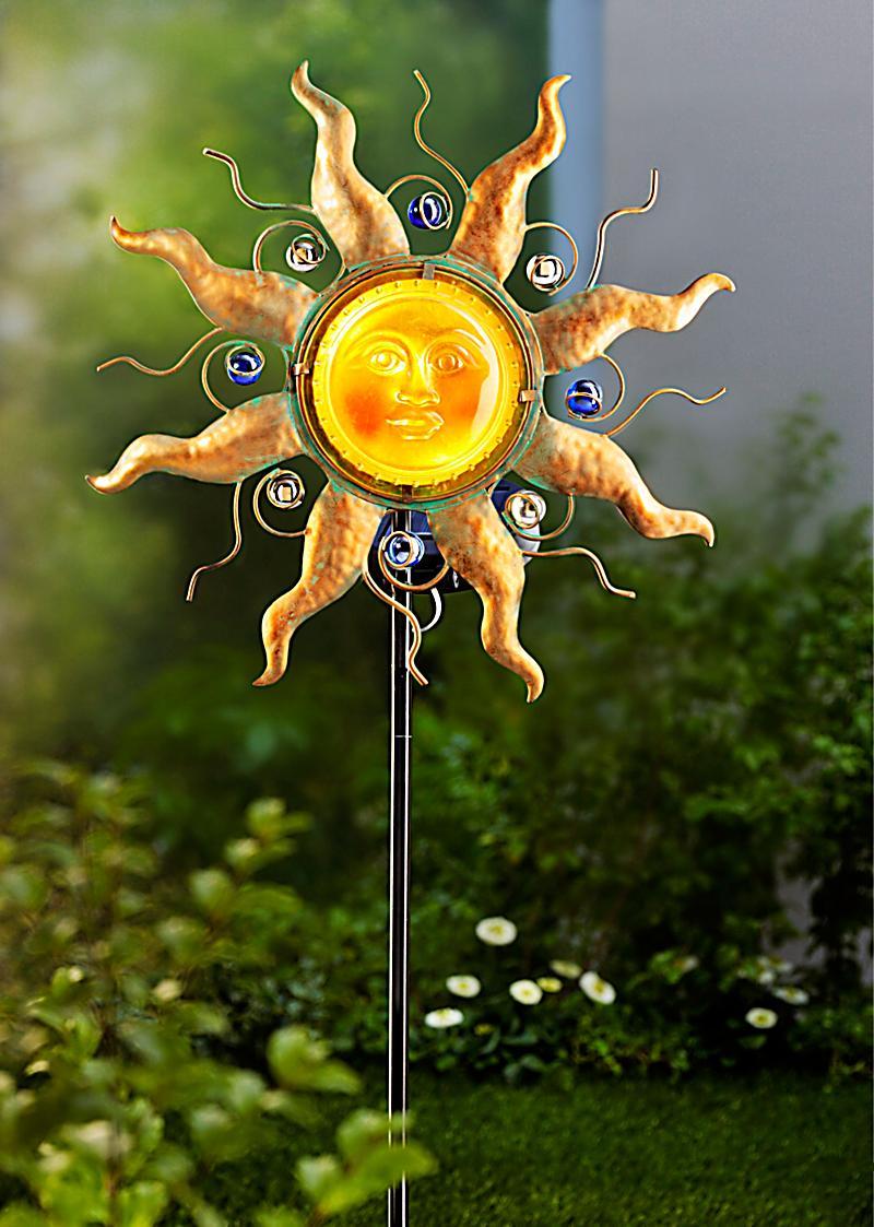 gartenstecker solar gartenstecker sonne jetzt bei bestellen