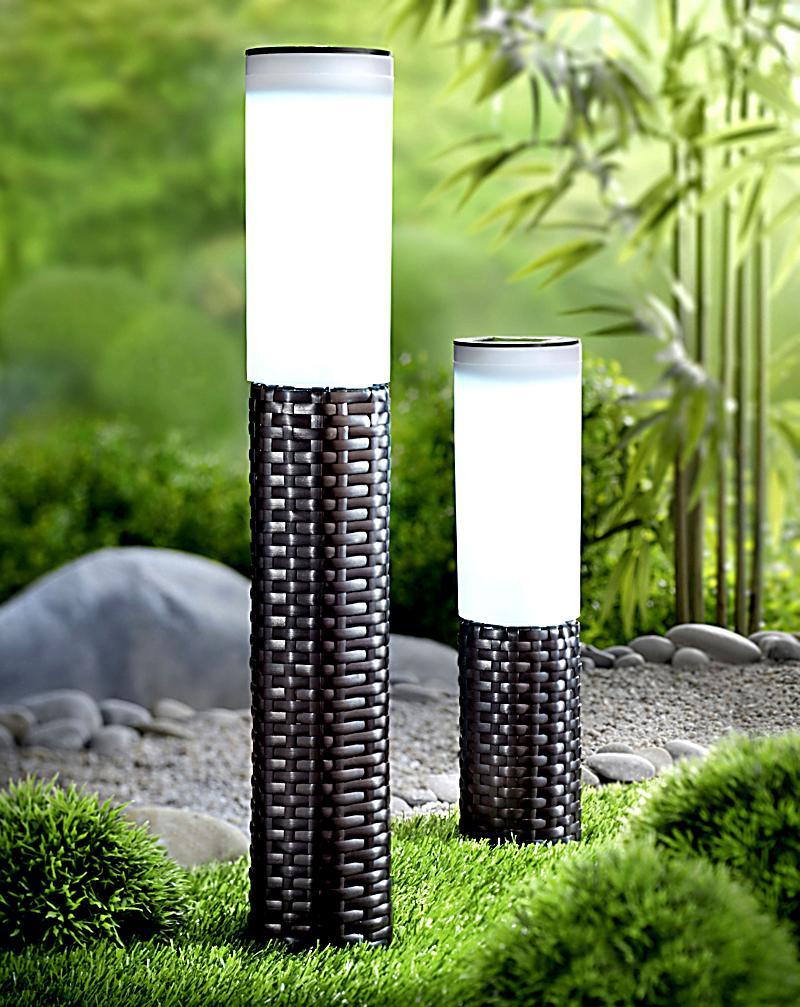 solarfackel rattan klein gr e 46cm. Black Bedroom Furniture Sets. Home Design Ideas