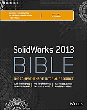 solidworks 2013 bible by matt lombard pdf