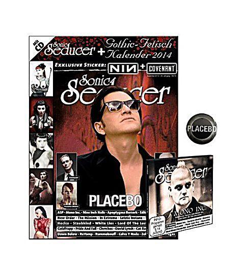 sonic seducer 09 placebo limited edition m. Black Bedroom Furniture Sets. Home Design Ideas