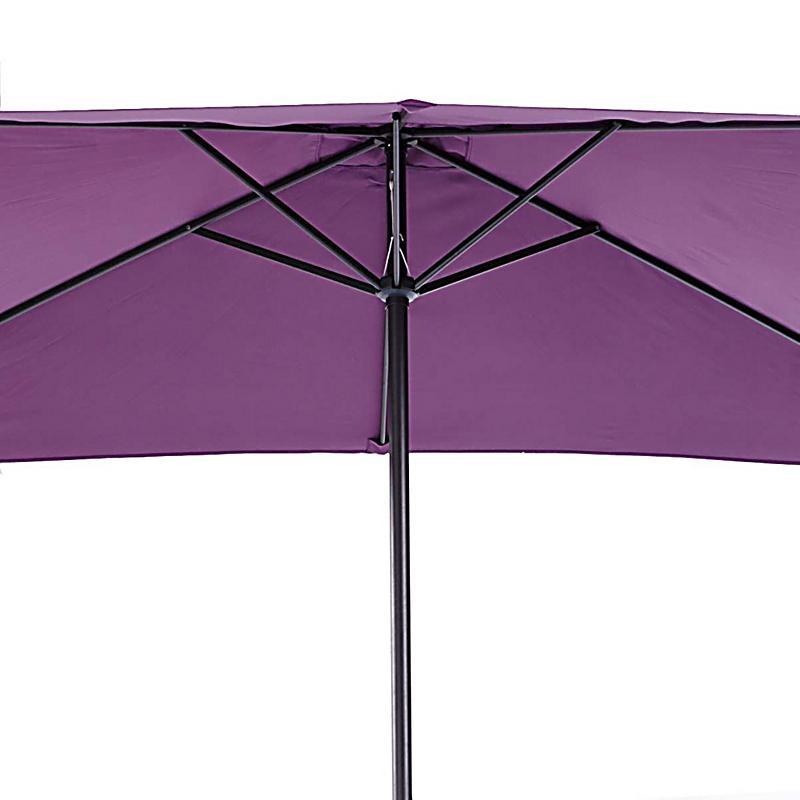 sonnenschirm rechteckig lila prinsenvanderaa. Black Bedroom Furniture Sets. Home Design Ideas