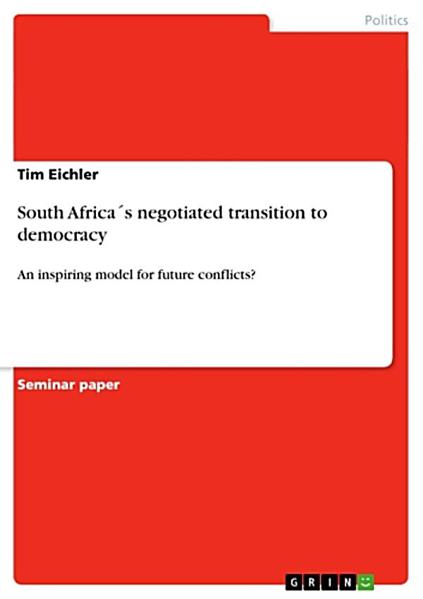 the transition to democracy Transition to democracy is basically referred to as the movement of states from authoritarian regimes to democratic regimes some states like mexico had a peaceful transition, avoid of political or armed conflicts while others like sierra leone democracy was ignited by civil conflict and military intervention into the state's political arena.