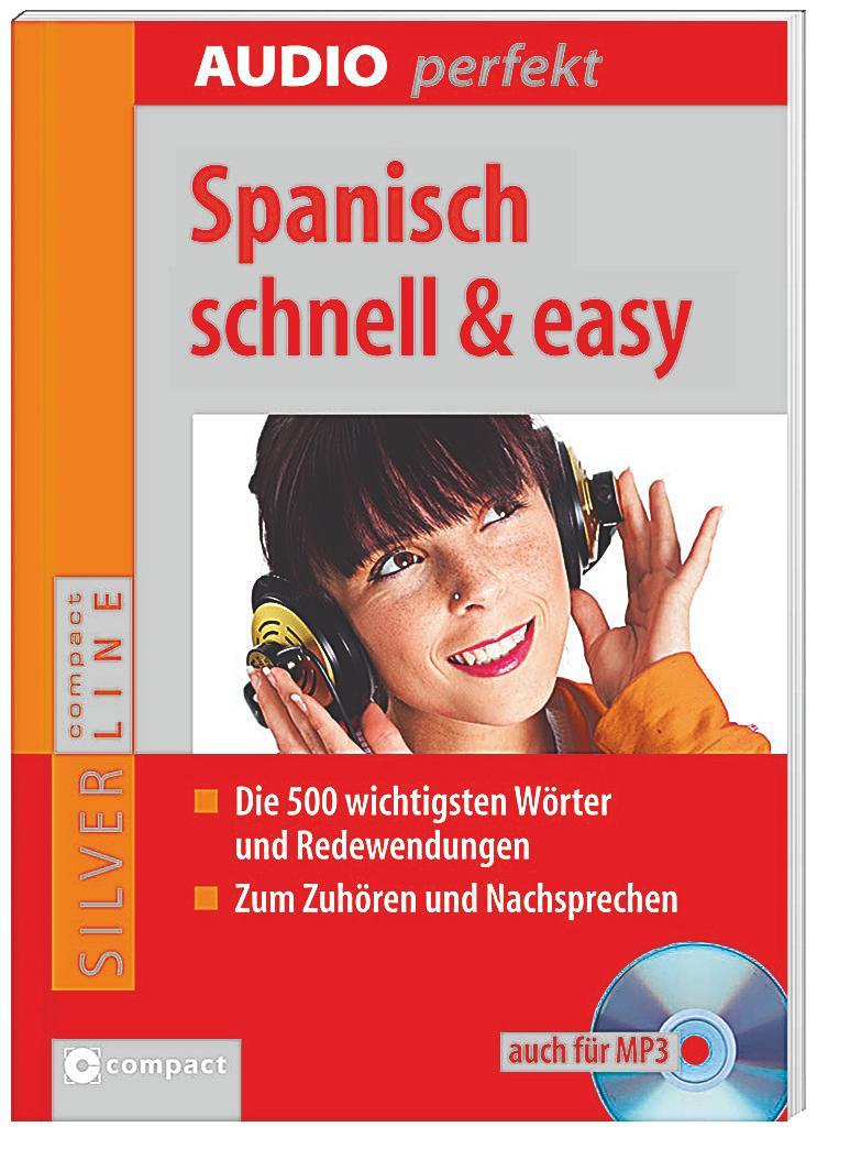 spanisch schnell easy 1 audio cd h rbuch g nstig bestellen. Black Bedroom Furniture Sets. Home Design Ideas