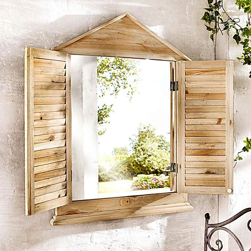 spiegel fensterladen jetzt bei bestellen. Black Bedroom Furniture Sets. Home Design Ideas