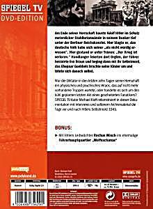 Spiegel tv tod im f hrerbunker dvd bei bestellen for Spiegel geschichte tv mediathek
