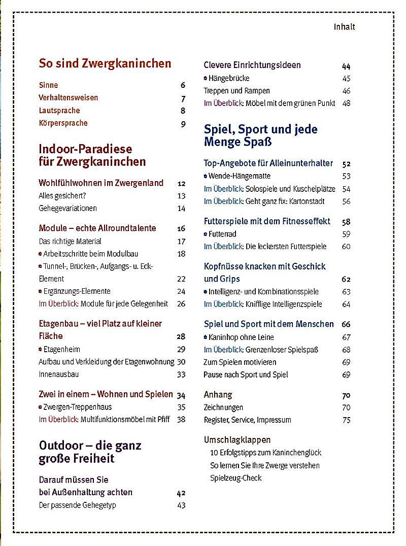 Spiel- und Wohnideen für Zwergkaninchen Buch - Weltbild.de