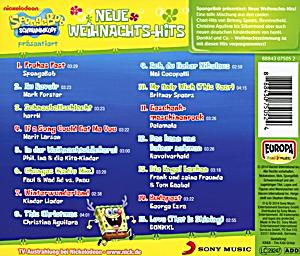 spongebob pr sentiert neue weihnachts hits von various. Black Bedroom Furniture Sets. Home Design Ideas