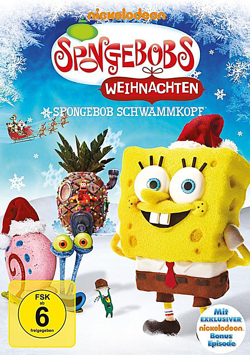 spongebob schwammkopf spongebobs weihnachten dvd. Black Bedroom Furniture Sets. Home Design Ideas