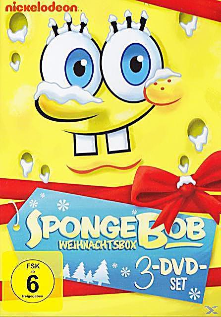 spongebob schwammkopf weihnachtsbox dvd. Black Bedroom Furniture Sets. Home Design Ideas