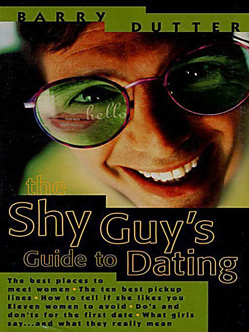 the shy guys guide to dating pdf Being a shy guy makes dating difficult, to say the least as a shy guy, you likely experience your share of problems with going out there and meeting other men, and you probably feel even greater stress when it comes time to actually ask those men out on a date.