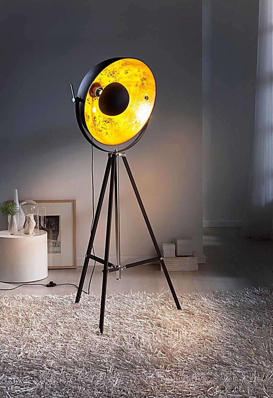 standleuchte 39 39 luxus 39 39 schwarz jetzt bei bestellen. Black Bedroom Furniture Sets. Home Design Ideas