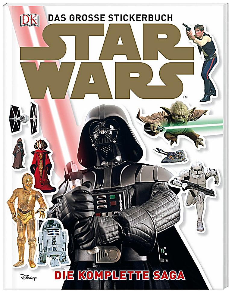star wars das grosse stickerbuch buch bei. Black Bedroom Furniture Sets. Home Design Ideas