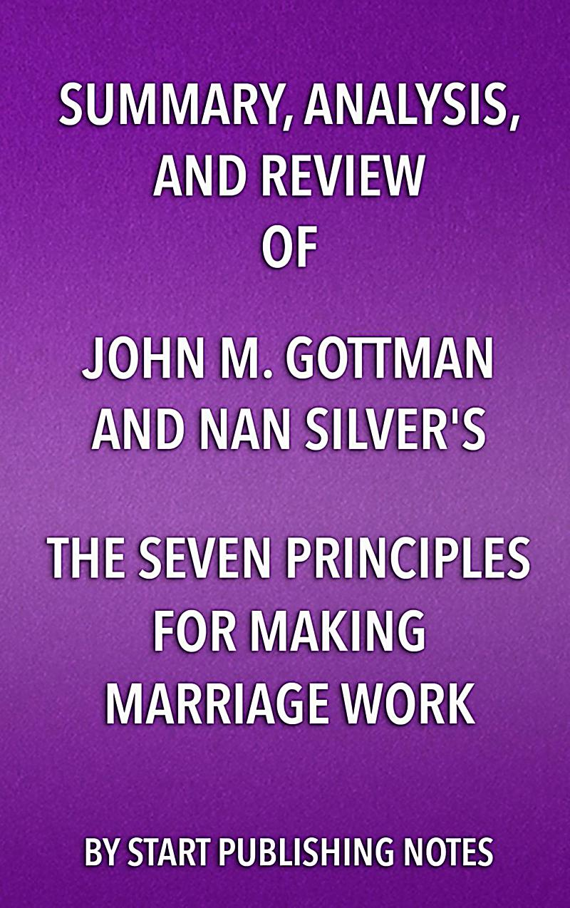 the seven principles for making marriage work summary pdf