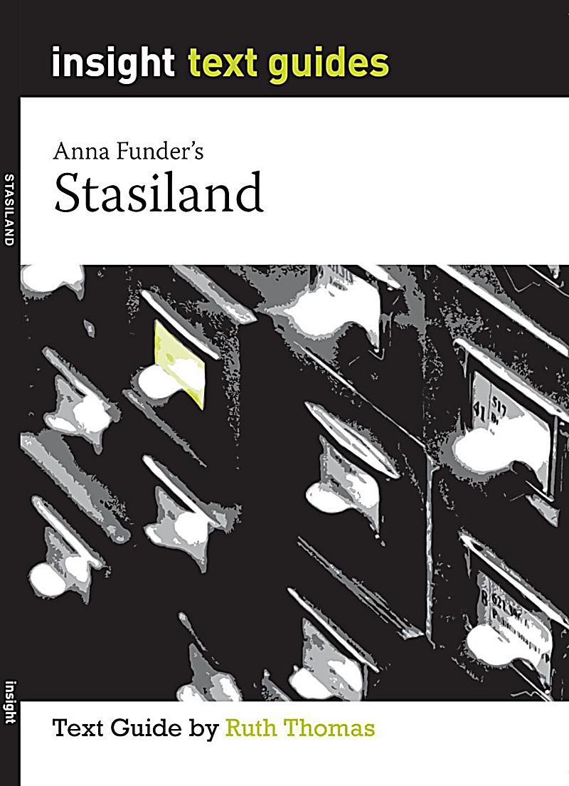 characters of stasiland Get everything you need to know about anna funder in stasiland analysis, related quotes, timeline.