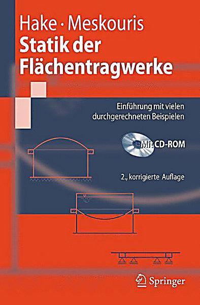 Statik der fl chentragwerke m cd rom buch portofrei for Maschinenbau statik