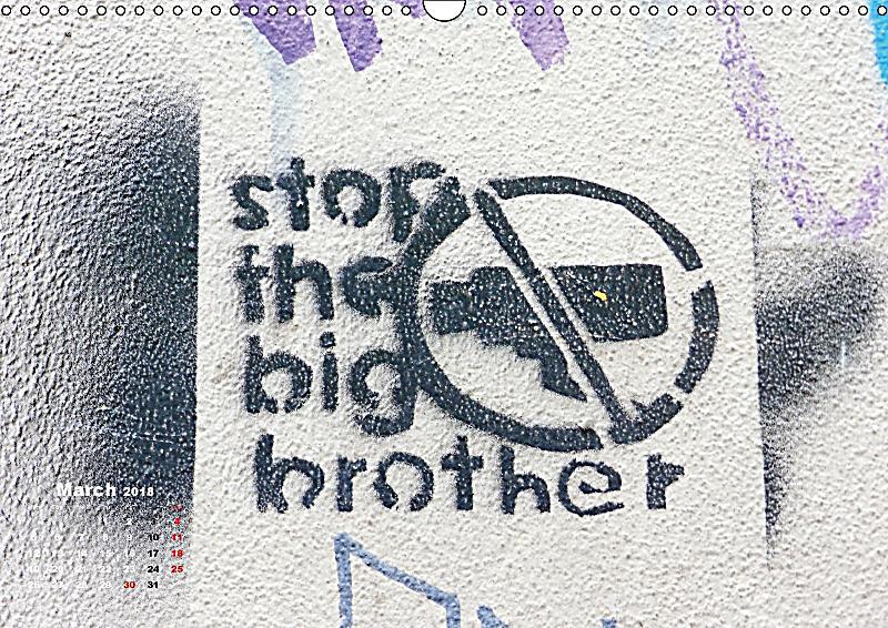Art Calendar Berlin : Stencil art in berlin uk version wall calendar