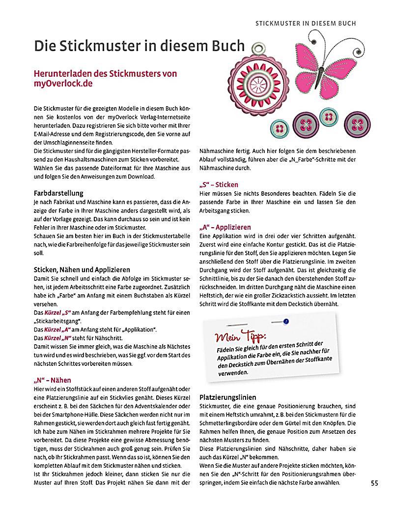 Sticken - Meine Ideen auf Stoff Buch bei Weltbild.de bestellen