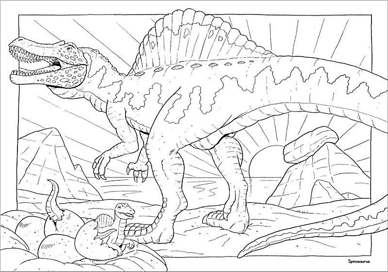 Charmant Malbuch Für Dinosaurier Fotos - Ideen färben - blsbooks.com