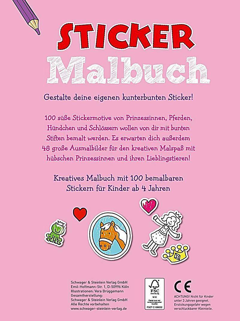 Sticker Malbuch rosa Buch jetzt bei Weltbild.ch online bestellen