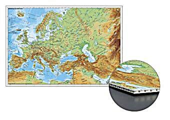 Naher Osten Karte Ohne Beschriftung.Stiefel Wandkarte Kleinformat Europa Und Der Nahe Osten Physisch Zum