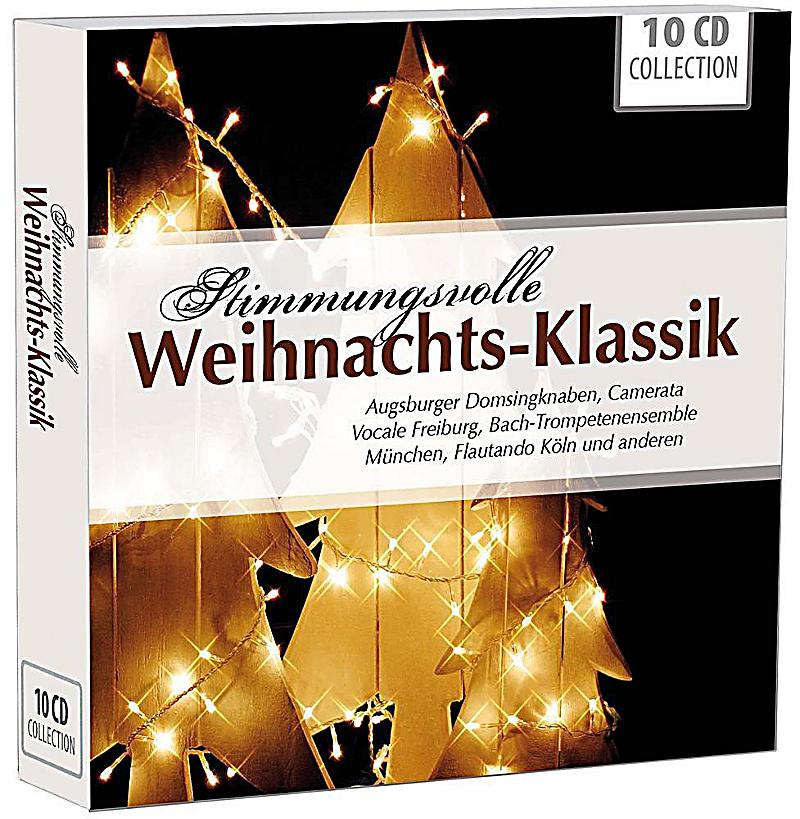 stimmungsvolle weihnachts klassik 10 audio cds cd. Black Bedroom Furniture Sets. Home Design Ideas