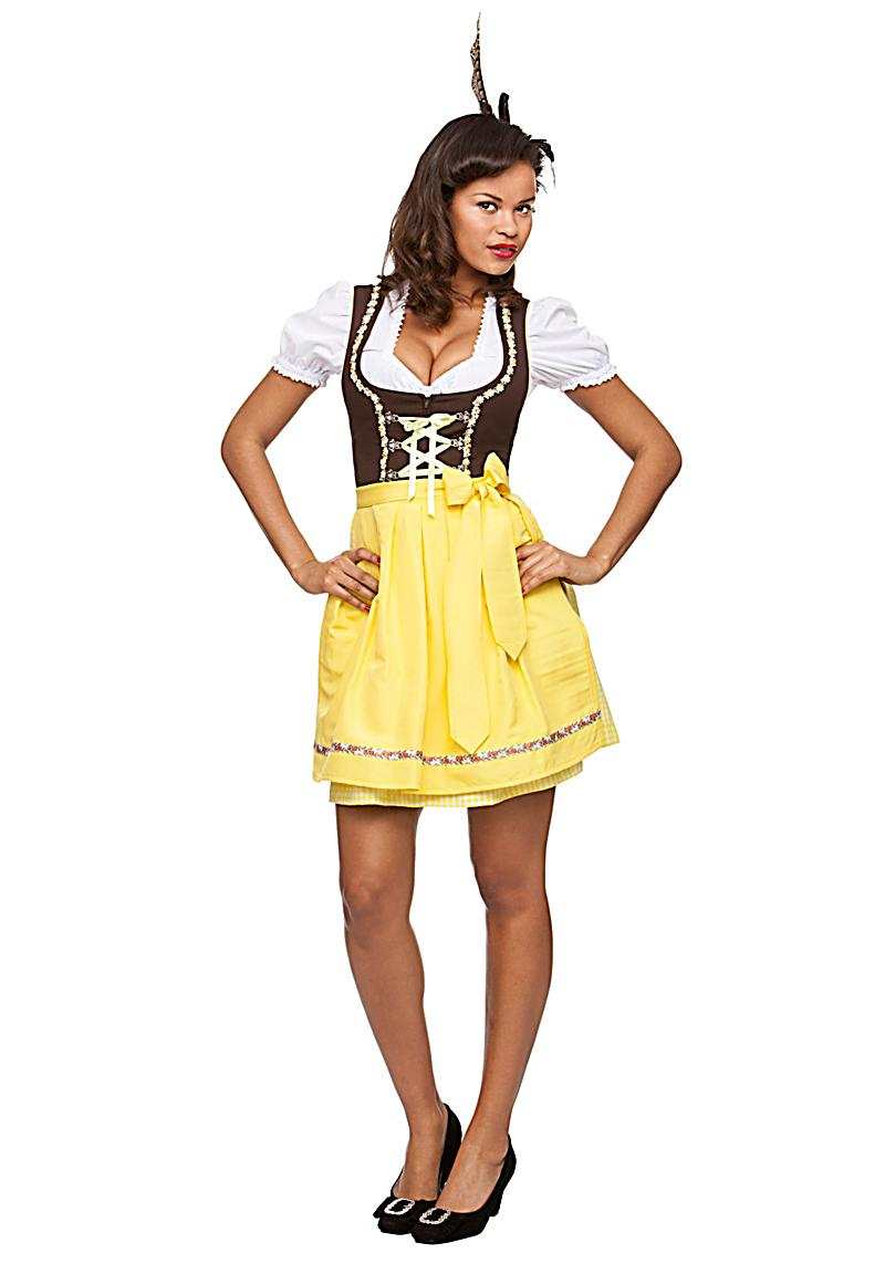 stockerpoint kurzes dirndl judy 2 tlg karo 50 cm. Black Bedroom Furniture Sets. Home Design Ideas