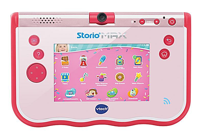 Storio max 5 lerntablet pink jetzt bei bestellen for Housse storio max 5