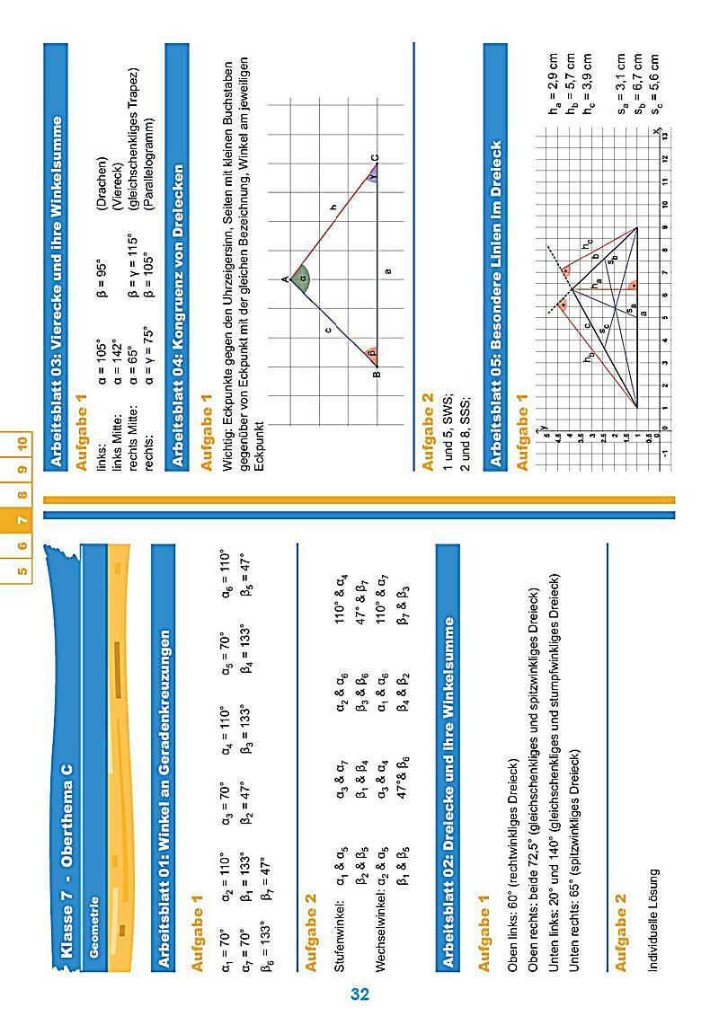 StrandMathe Lösungen für Übungsheften Klasse 5-10 Buch - Weltbild.de