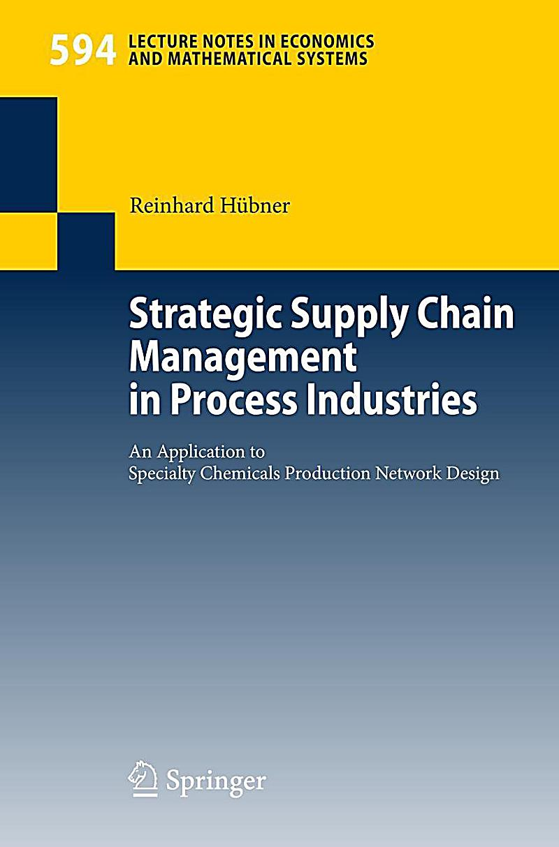 strategic supply chain management Strategic supply chain management 1- the traditional view of supply chain management is that it is mainly a process for obtaining and moving goods and services.