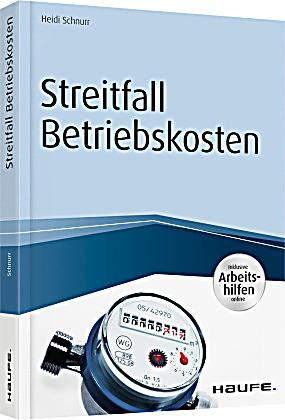 streitfall betriebskosten buch portofrei bei. Black Bedroom Furniture Sets. Home Design Ideas