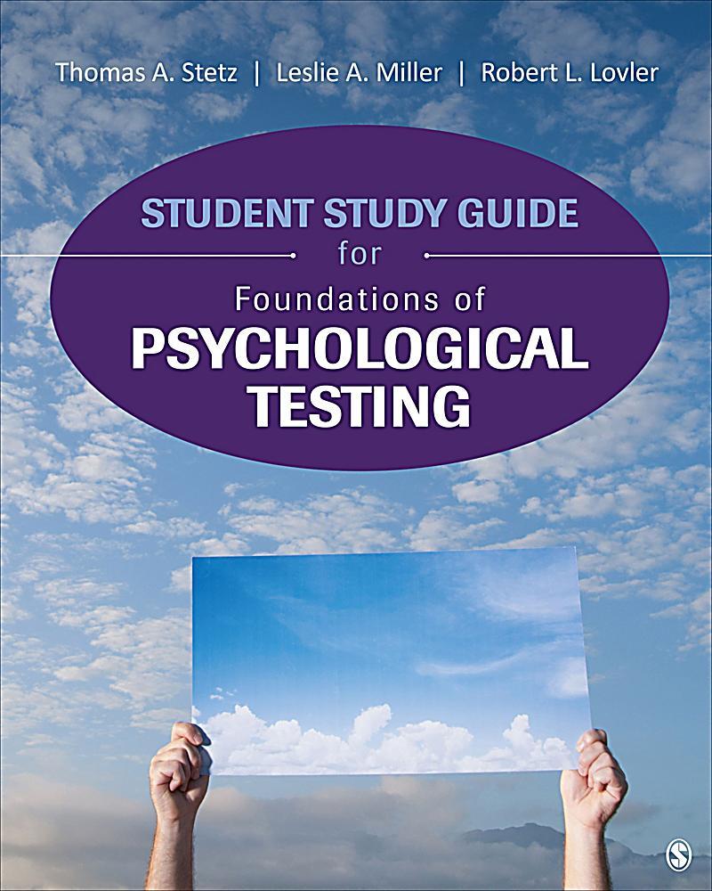foundations of psychological testing pdf
