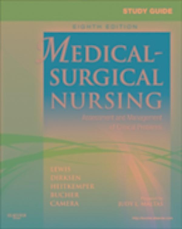 delmars case study series medical-surgical nursing Medical-surgical nursing mental care for patients requiring ventilator support with pilbeam's mechanical ventilation: case studies and clinical.
