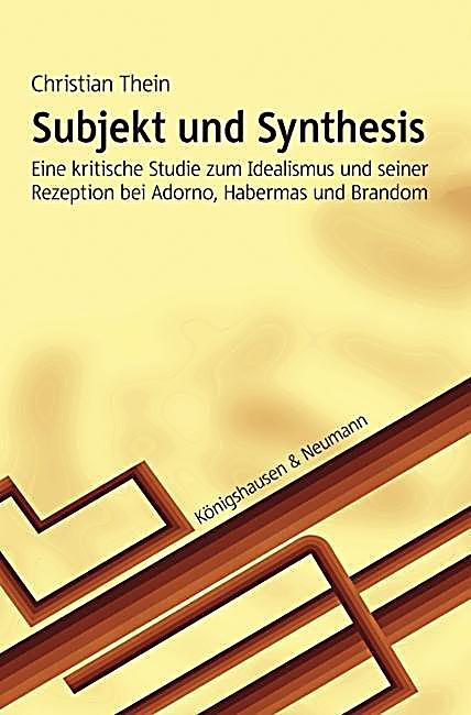 subjekt und synthesis buch portofrei bei weltbildde bestellen