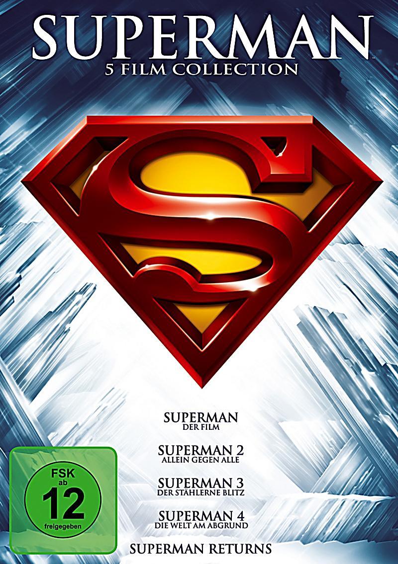superman die spielfilm collection dvd bei bestellen. Black Bedroom Furniture Sets. Home Design Ideas