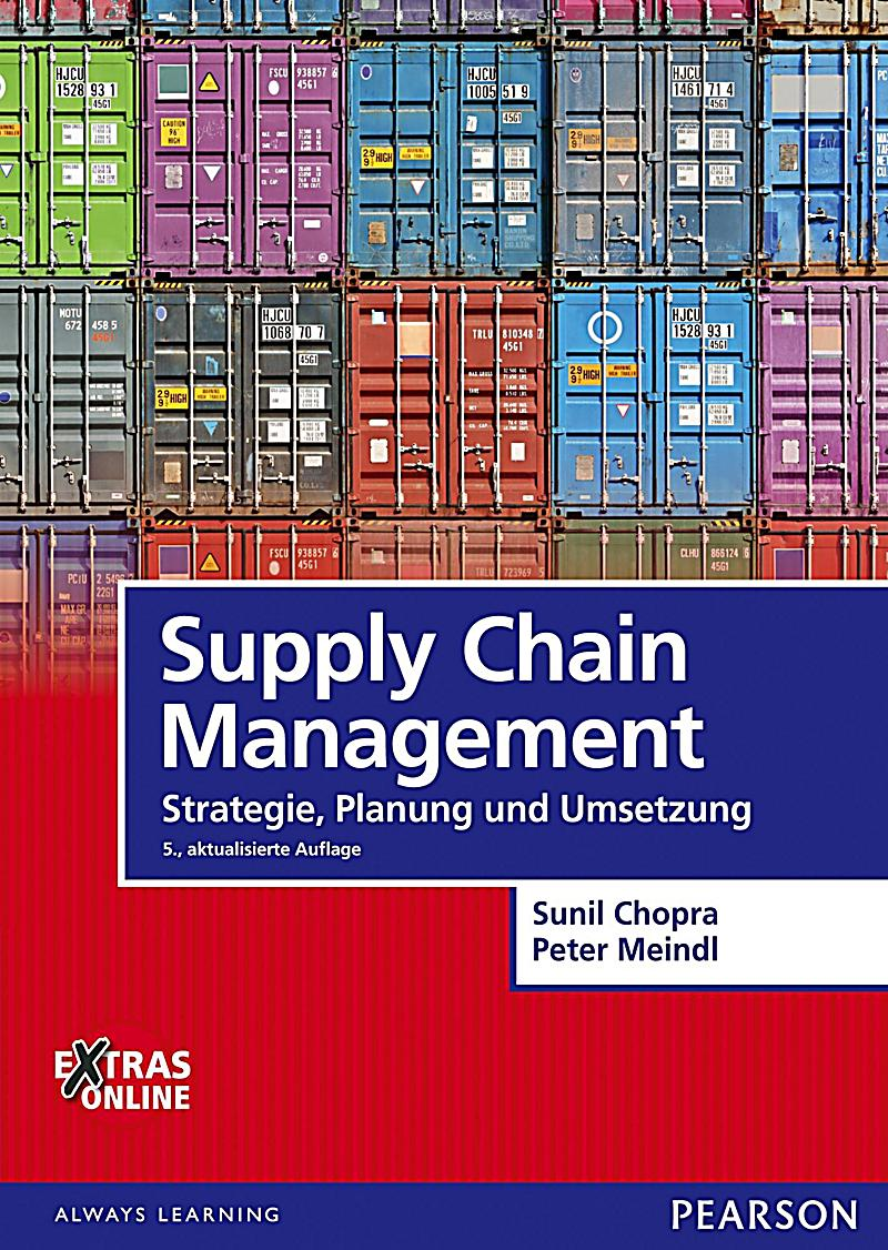 understanding the supply chain sunil chopra Supply chain management strategy, planning and operation chopra & peter meindl sunil chapter 1 what is a supply chain consists of all parties involved, directly or indirectly, in fulfilling a customer.